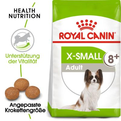 Royal Canin X-SMALL Adult 8+ 500g