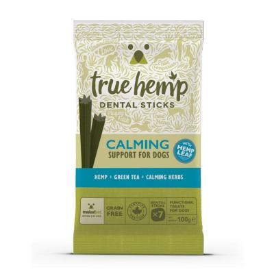 True Hemp Dental Sticks Calming 100g