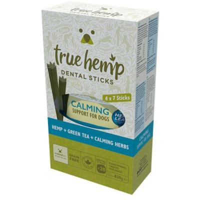 True Hemp Dog Dental | Multi Box Calming 4 x 100g
