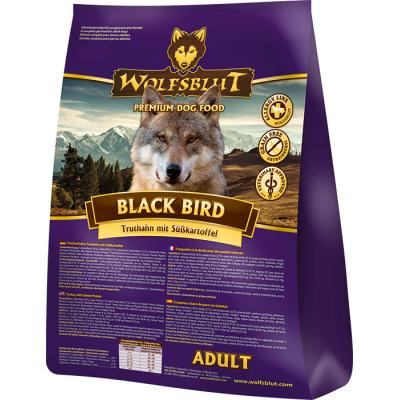 Wolfsblut Black Bird Adult Truthahn & Süßkartof...