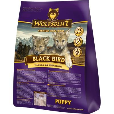 Wolfsblut Black Bird Puppy Truthahn & Süßkartof...