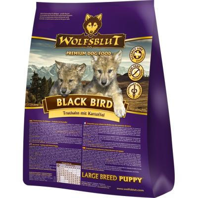 Wolfsblut Black Bird Puppy Large Breed Truthahn...