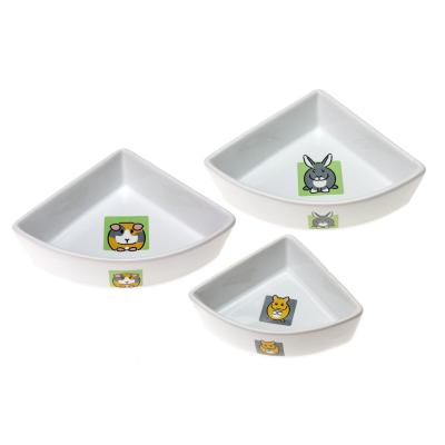Dishes, Feeders & Fountains Self-Conscious New Mog & Bone Ceramic Cat Bowl Cool Grey 300ml Pure White And Translucent