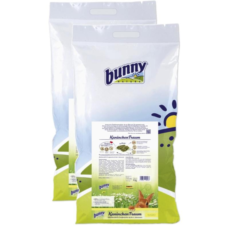 Sparpack! Bunny Kaninchen Traum basis | 2 x 4kg