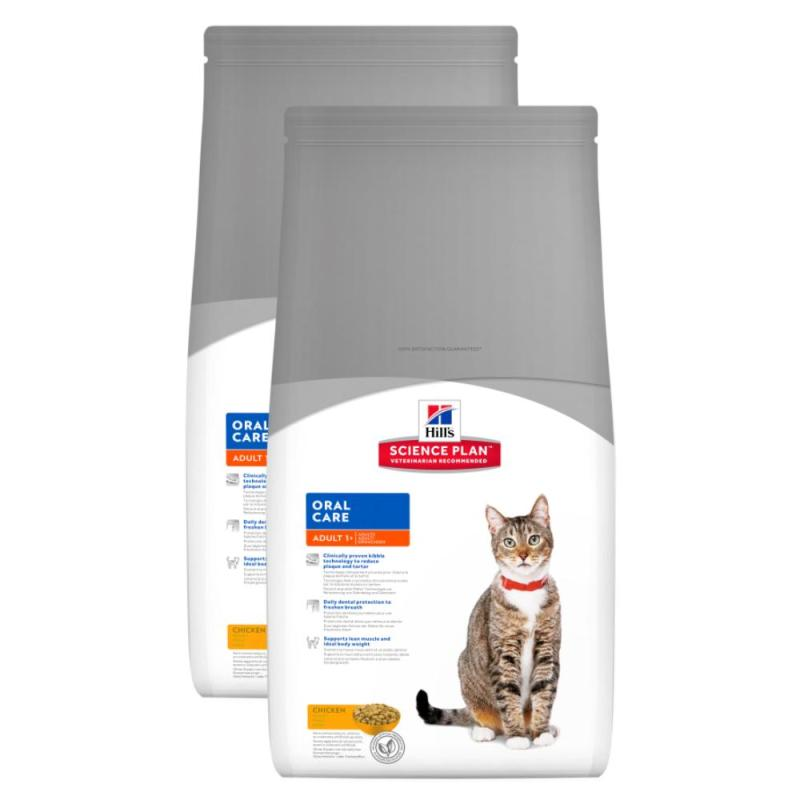 Sparpack! Hill's Feline Oral Care Adult | 2 x 5kg