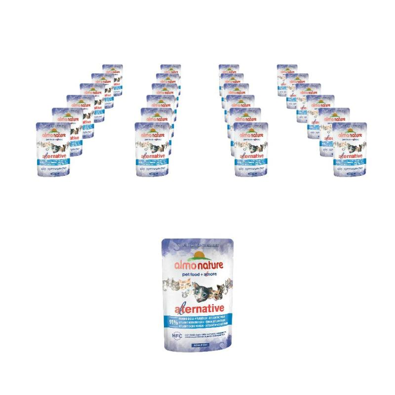 Sparpack! Almo Nature HFC Alternative Atlantikthunfisch | 24 x 55g