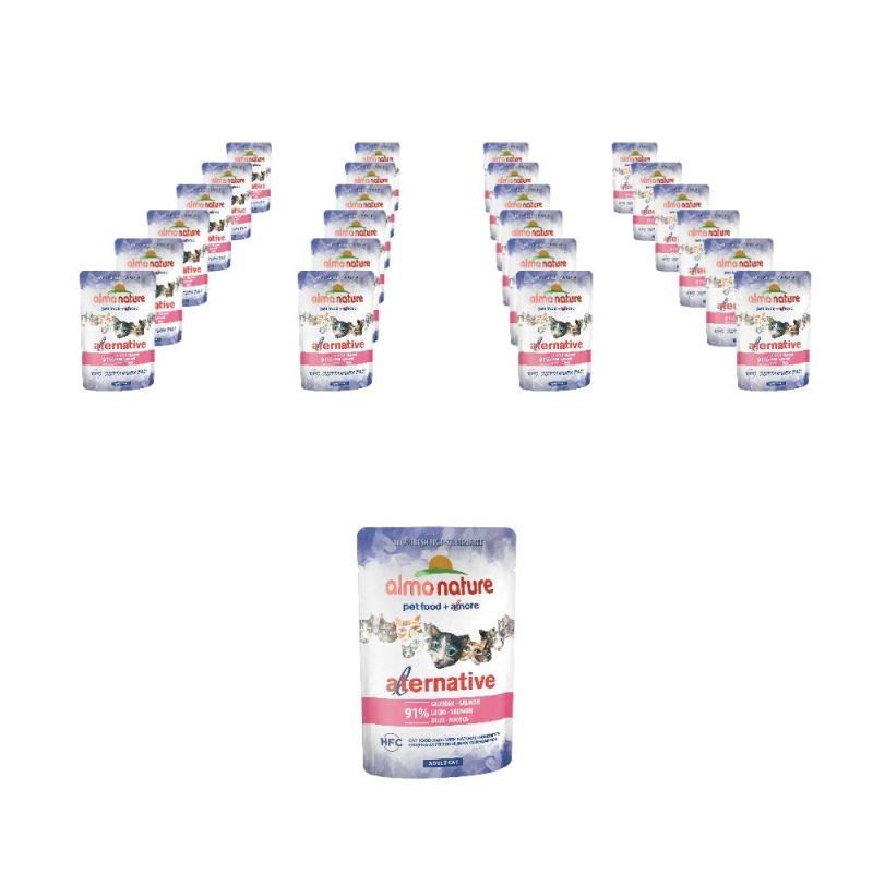 Sparpack! Almo Nature HFC Alternative Lachs | 24 x 55g