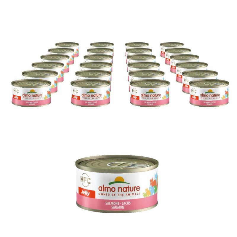 Sparpack! Almo Nature HFC Lachs | 24 x 70g