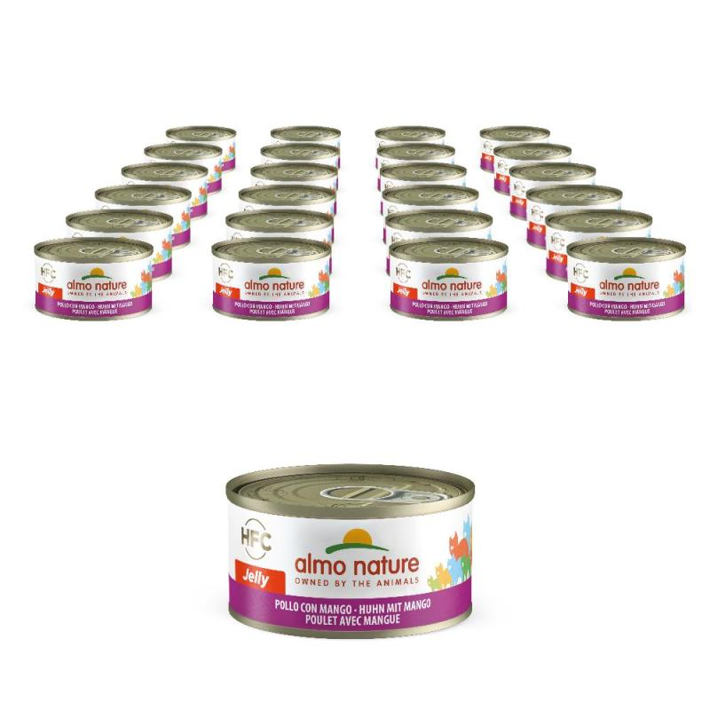 Sparpack! Almo Nature Legend in Jelly mit Huhn & Mango | 24 x 70g