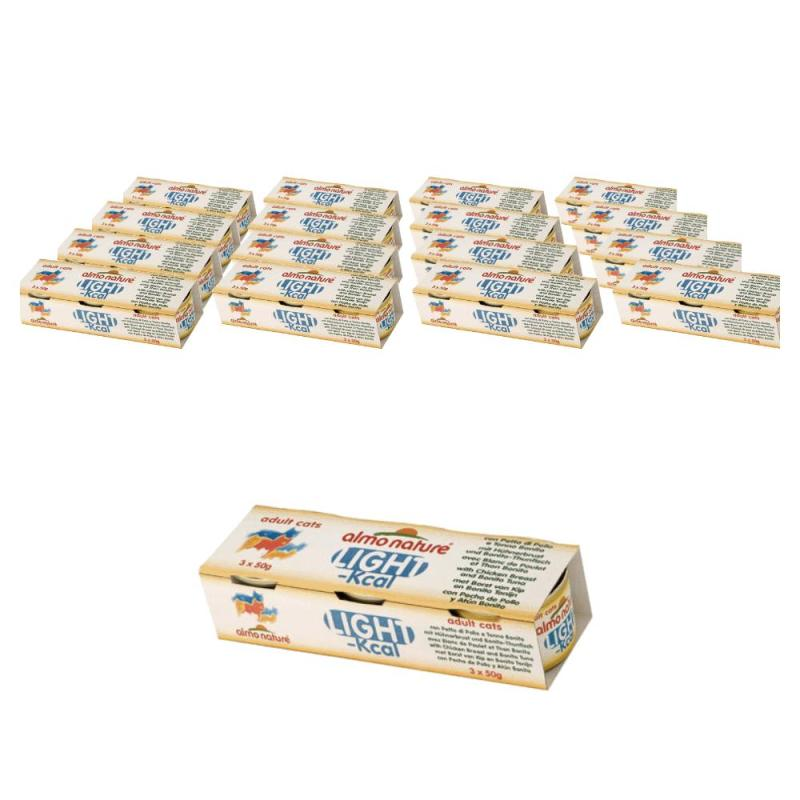 Sparpack! Almo Nature Classic Light Huhn & Bonito Thunfisch | 48 x 50g