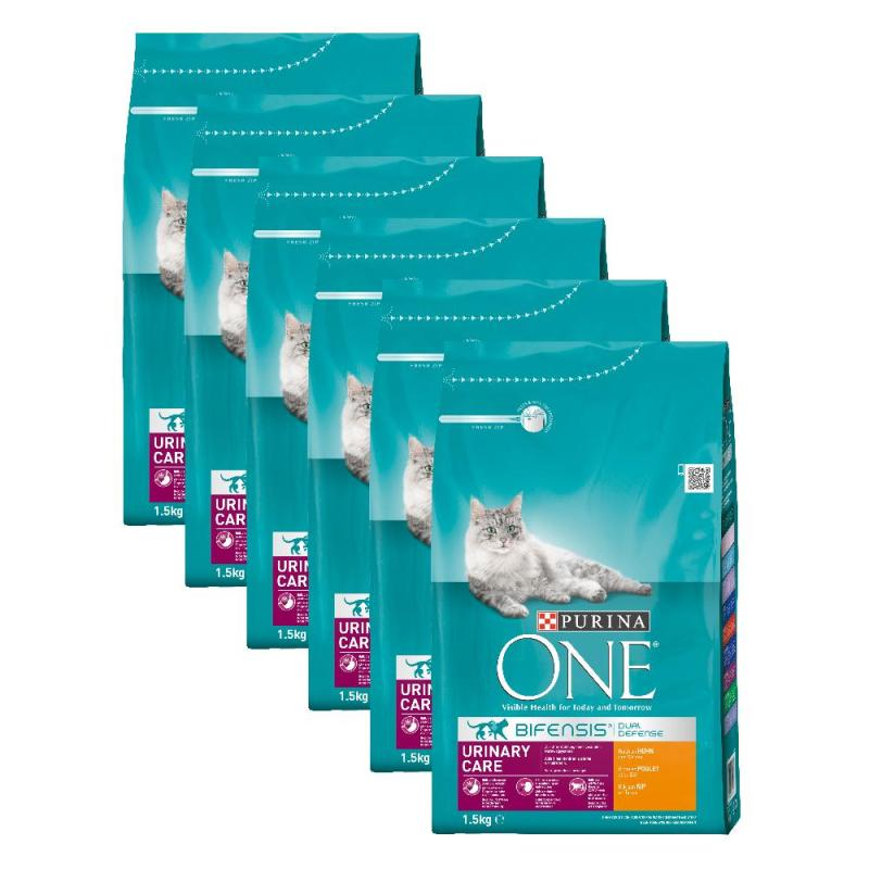 Sparpack! Purina ONE Bifensis Urinary Care | Huhn 6 x 1,5kg