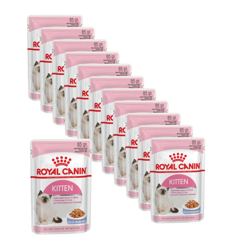 Maxipack Royal Canin Kitten Instinctive in Gelee | 85g 10 + 2 gratis