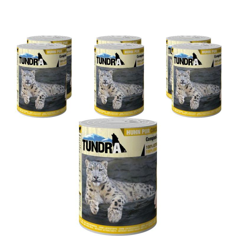 Sparpack! Tundra Cat Huhn Pur | 400g 5 + 1 gratis!