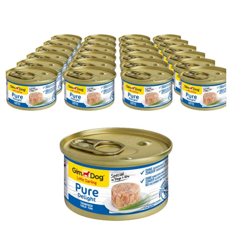 Sparpack! GimDog Pure Delight Thunfisch | 24x85g