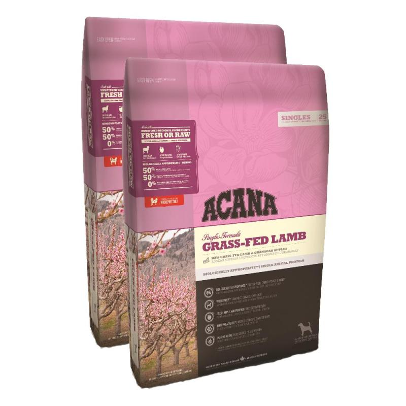 Sparpack! Acana Singles Grass-Fed Lamb | 2 x 11,4kg