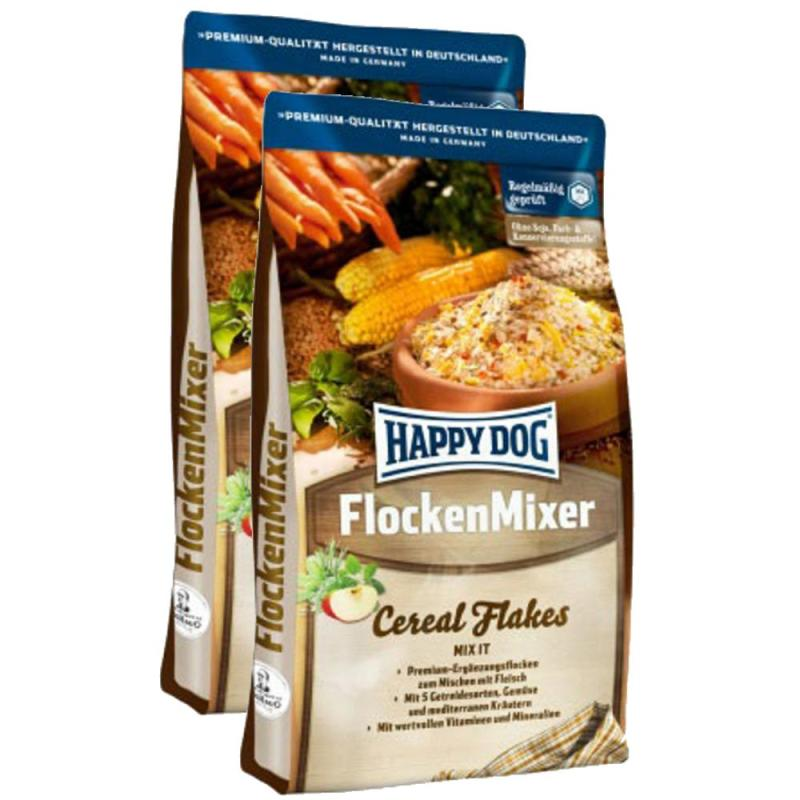 Sparpack! Happy Dog  Flocken Mixer | 2 x 10kg