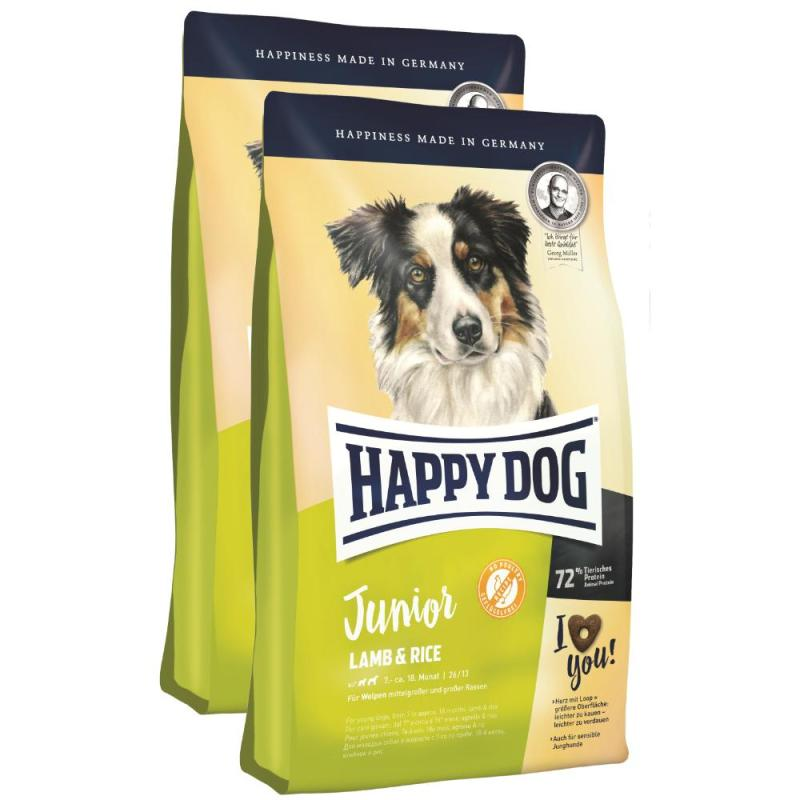 Sparpack! Happy Dog Junior Lamb & Rice | 2x10kg