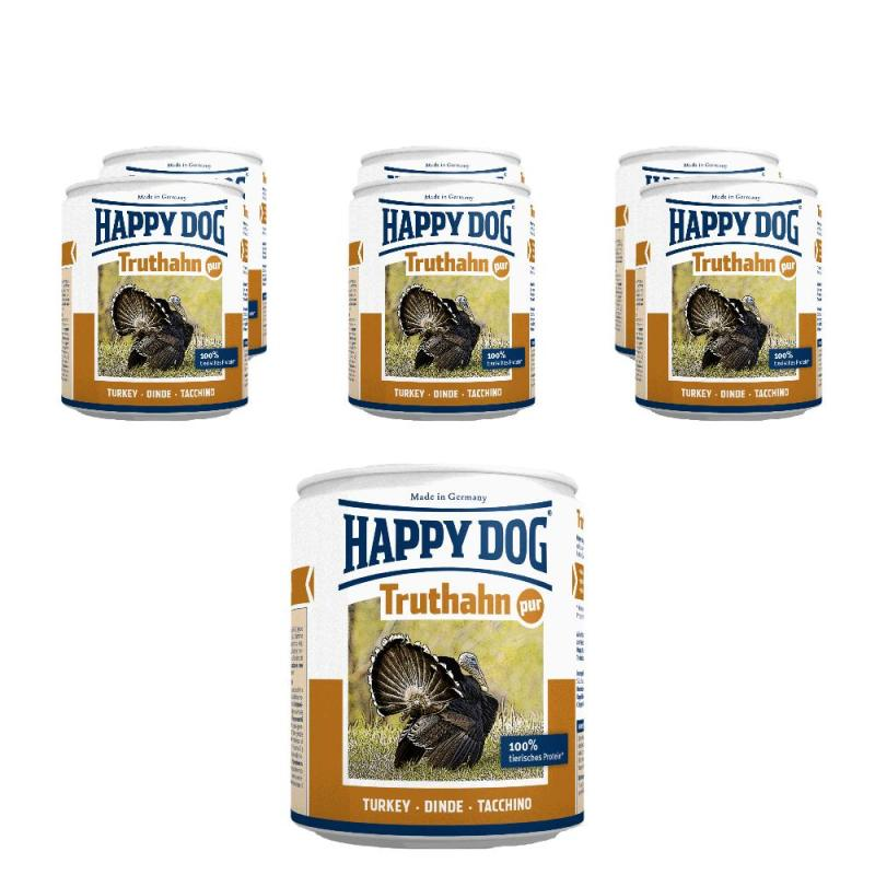Sparpack! Happy Dog Truthahn pur | 6 x 800g