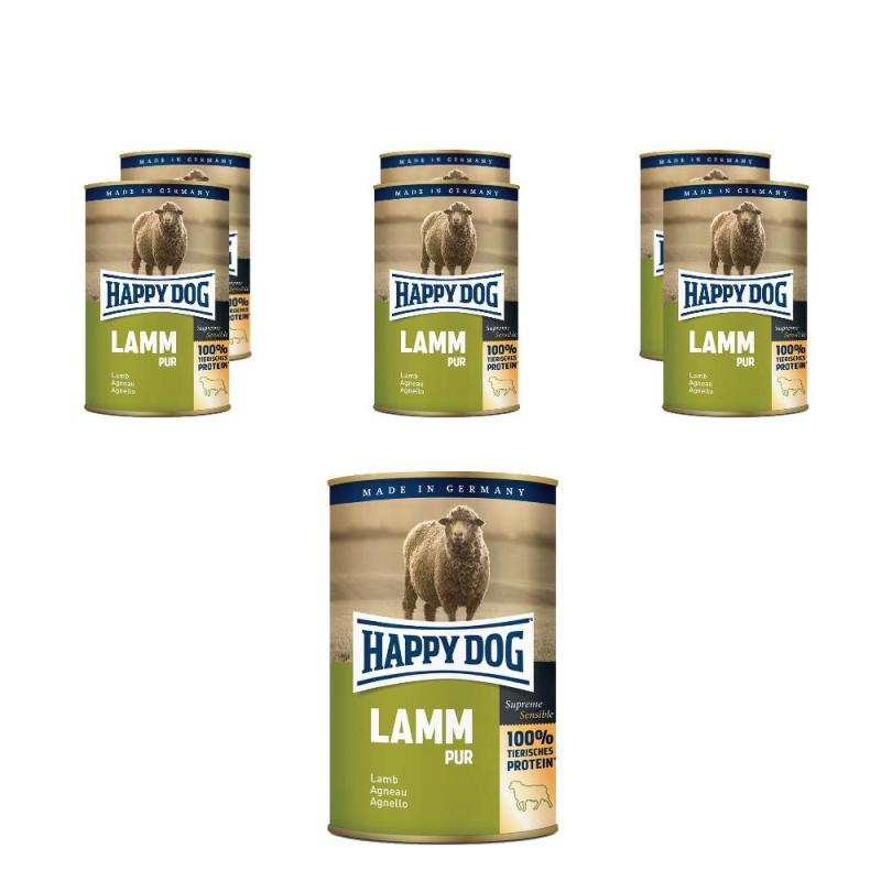 Sparpack! Happy Dog Lamm pur | 6 x 800g