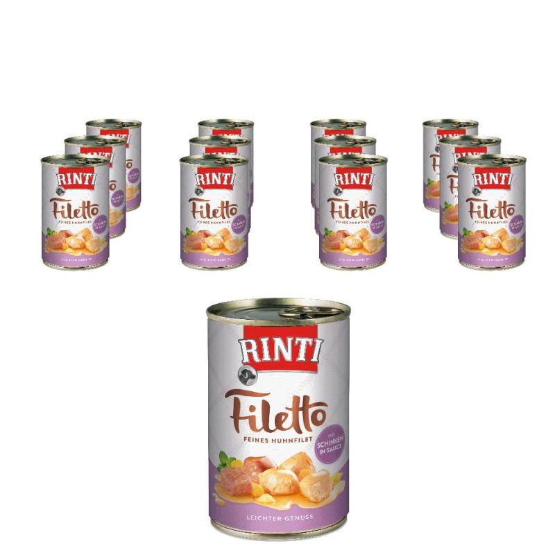 Sparpack! Rinti Filetto in Sauce Huhn & Schinken | 12x420g