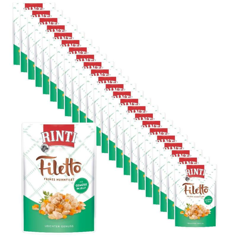 Sparpack! Rinti Filetto in Jelly Huhn & Gemüse | 24x100g