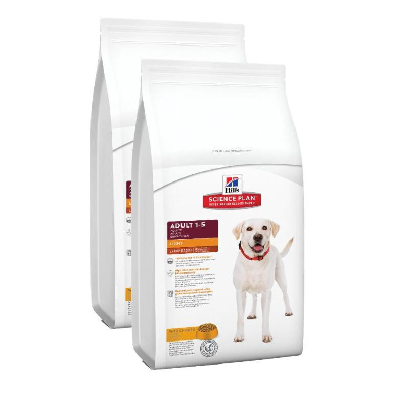 Sparpack! Hill's Canine Adult Light Large Breed Huhn | 2 x 12kg