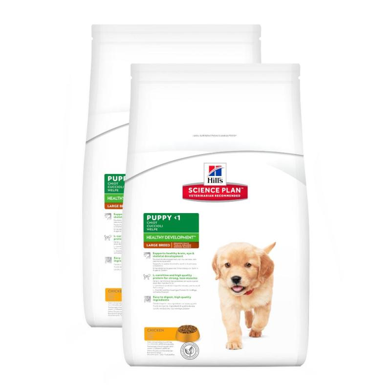 Sparpack! Hill's Puppy Large Breed Huhn | 2 x 11kg