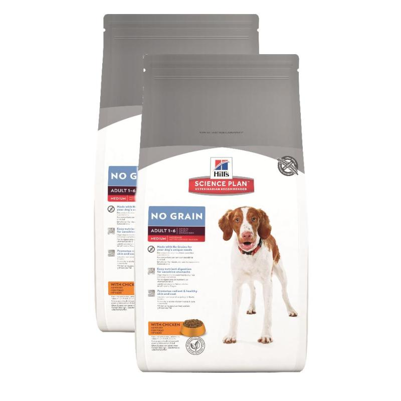 Sparpack! Hill's Canine Adult No Grain Huhn | 2x12kg