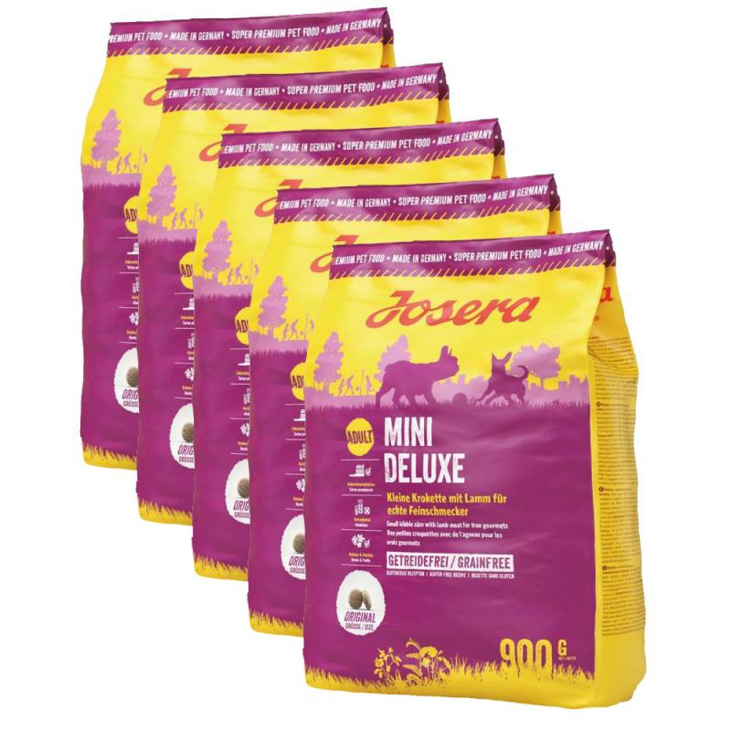 Sparpack! Josera MiniDeluxe | 4,5kg (5x900g)