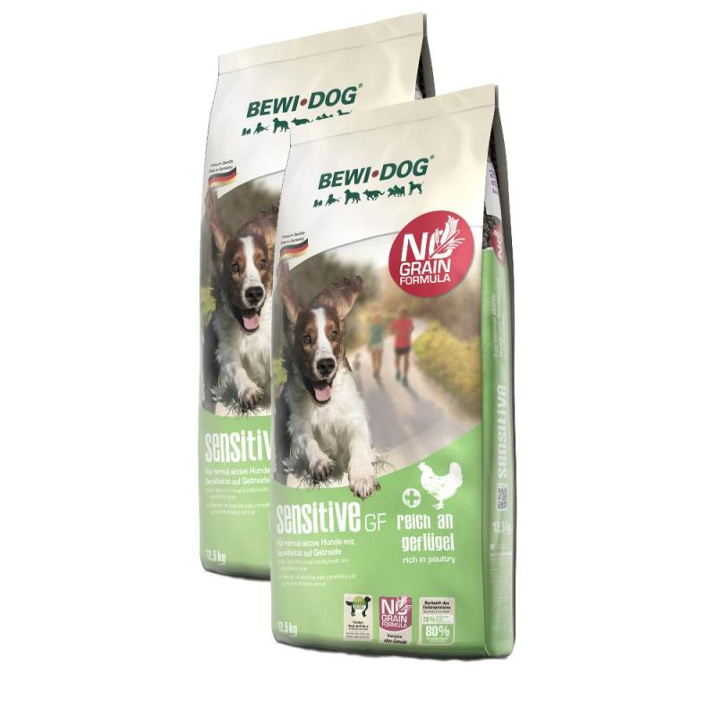 Sparpack! Bewi Dog sensitive GF | 2x12,5kg