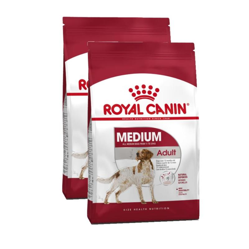 Sparpack! Royal Canin Medium Adult 25 | 2x15kg