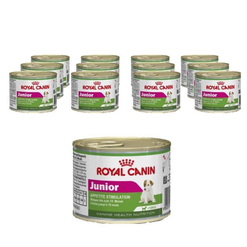 Sparpack! Royal Canin Mini Junior | 12 x 195g