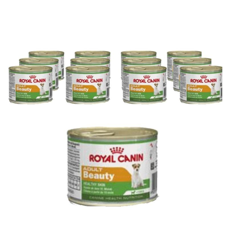 Sparpack! Royal Canin Mini Adult Beauty | 12 x 195g
