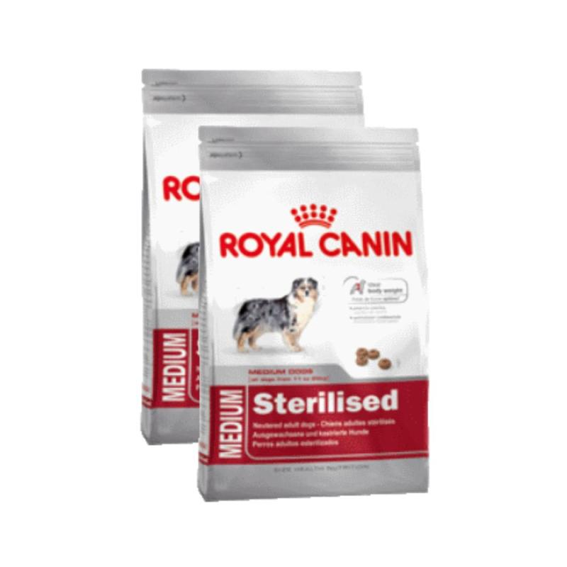 Sparpack! Royal CanineMedium Sterilised | 2 x 12kg