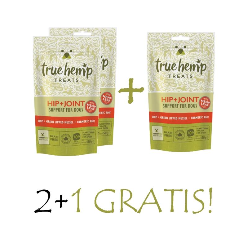 Sparpack! True Hemp | Hip & Joint 3x50g