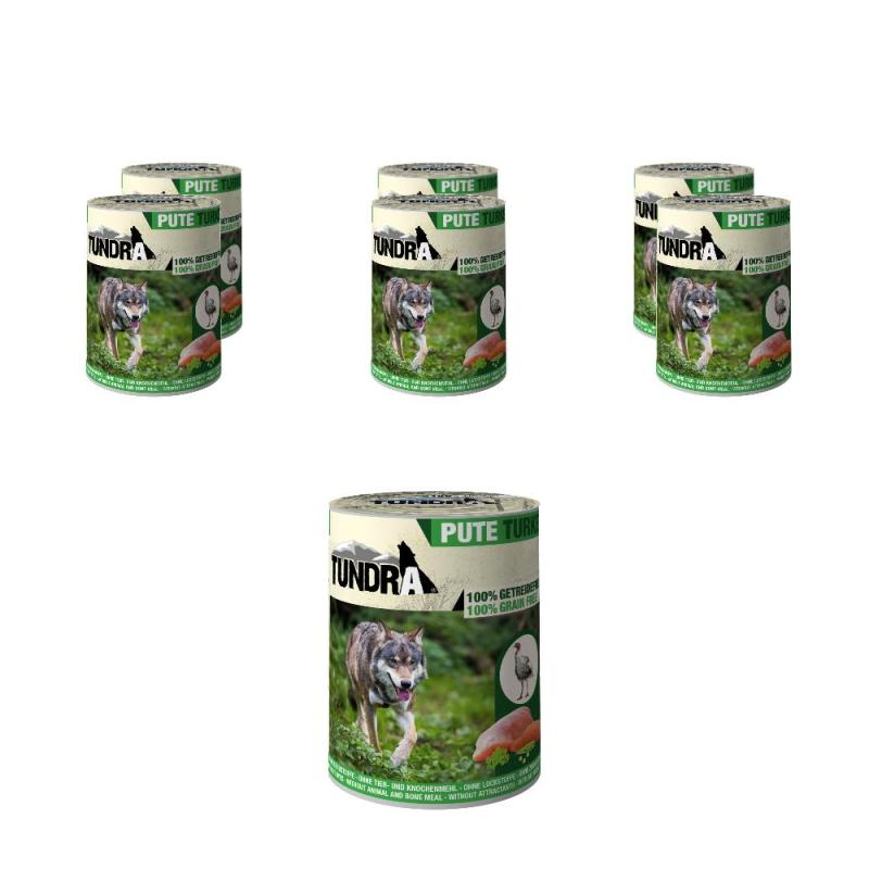 Sparpack! 5 + 1 gratis! Tundra Dog Pute | 6 x 400g