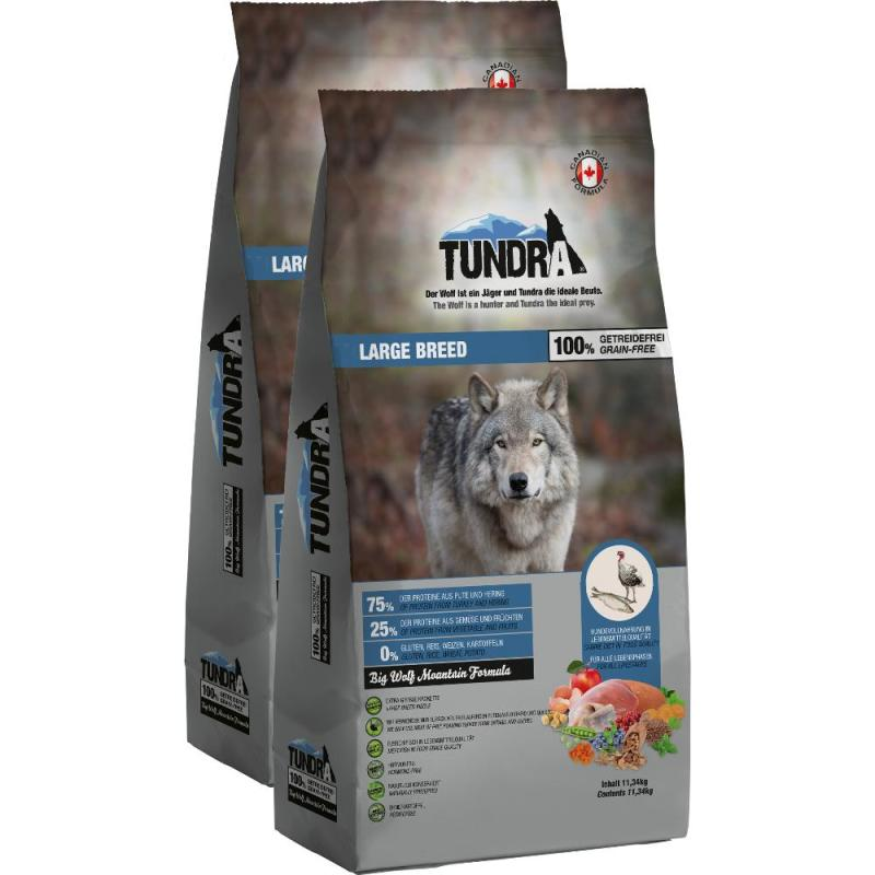 Sparpack! Tundra Large Breed | 2x11,34kg