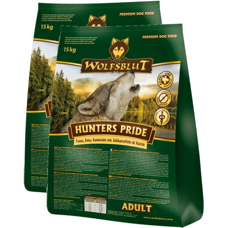 Sparpack! Wolfsblut Hunters Pride Adult Fasan & Ente | 2 x 15kg