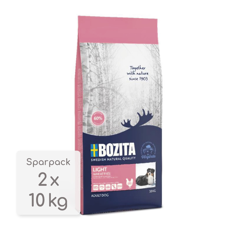 Sparpack! Bozita Light Wheat Free | 2x10kg