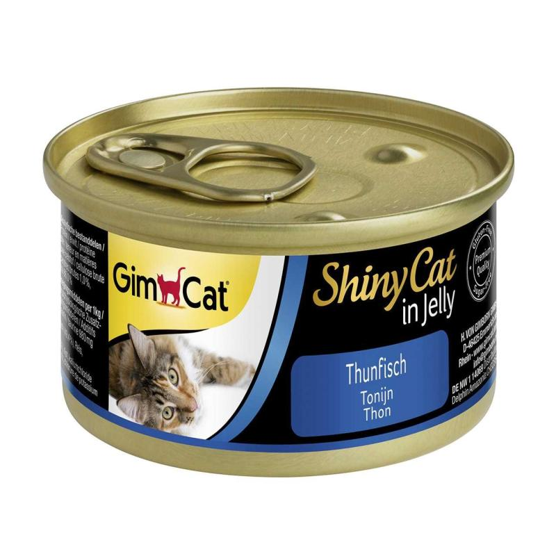 GimCat ShinyCat Thunfisch in Jelly | 70g