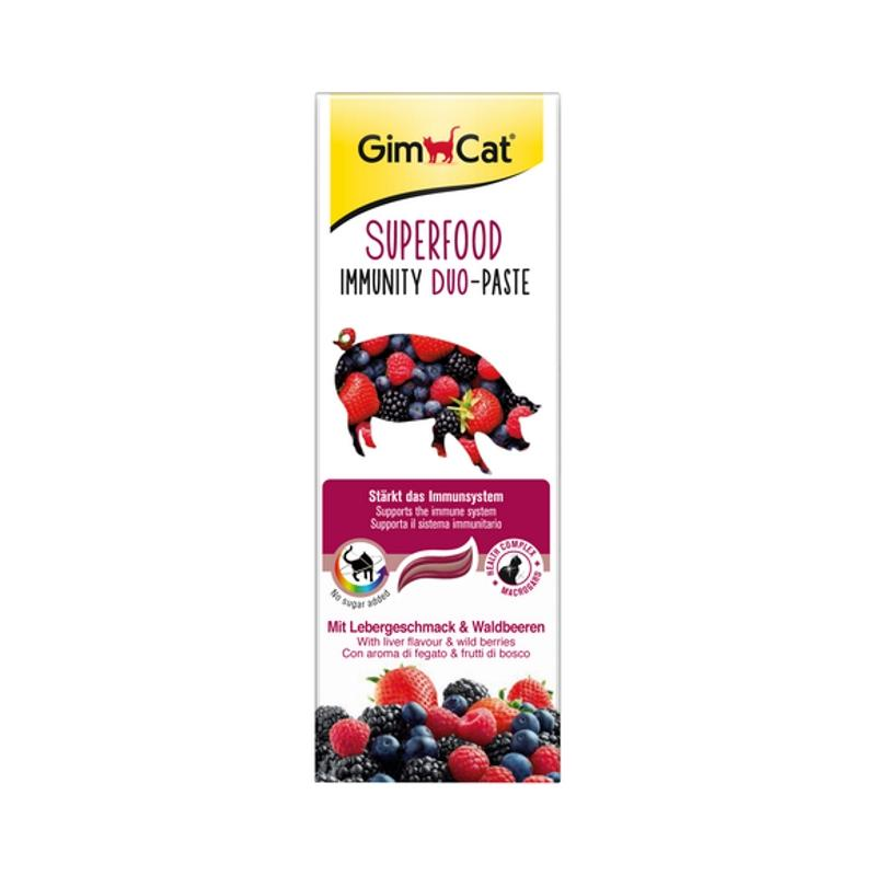 GimCat Superfood Duo-Paste | Immunity 50g